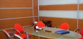 Непрозрачные офисные перегородки